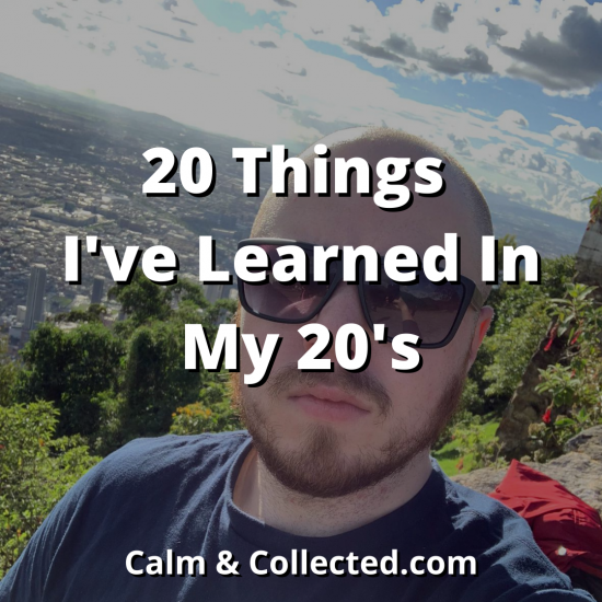 20 Things I've Learned In My 20's