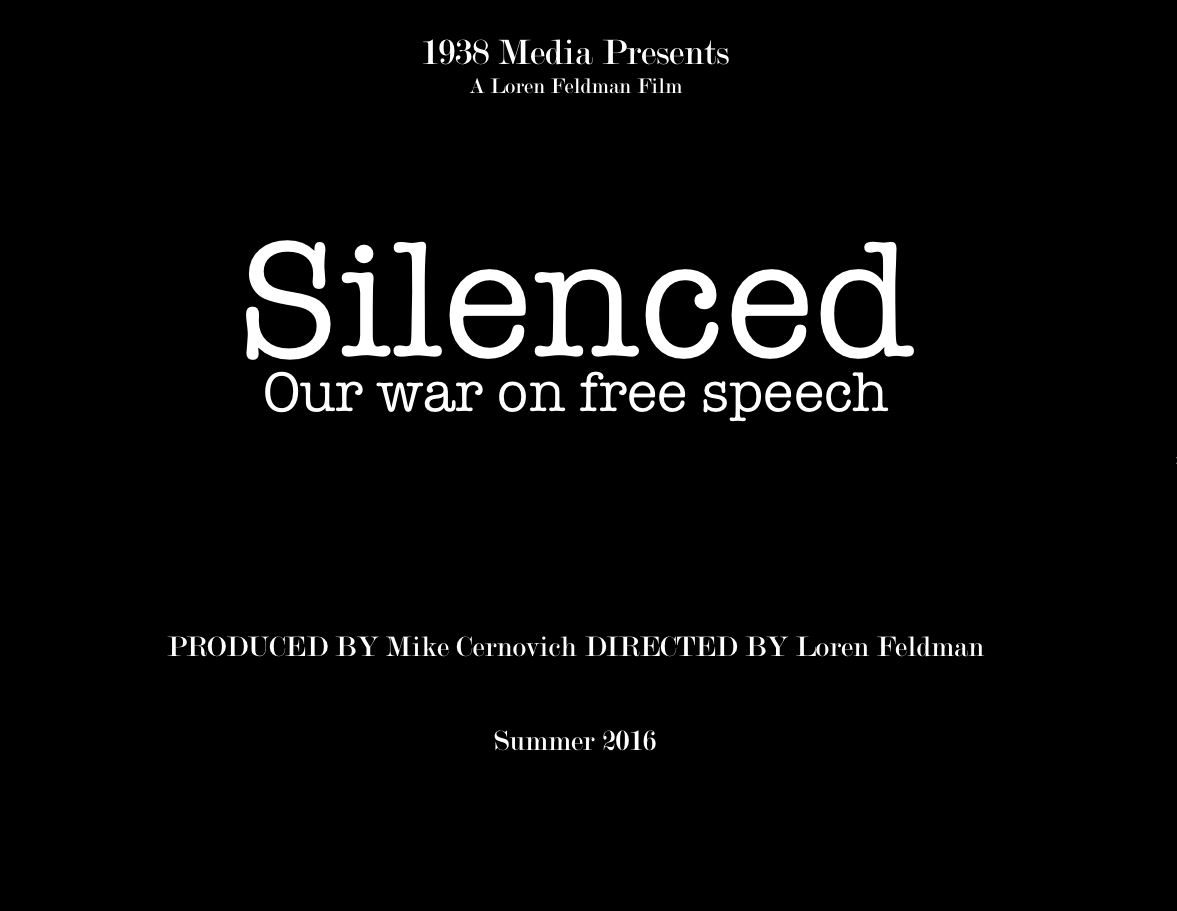 silenced. our war on free speech