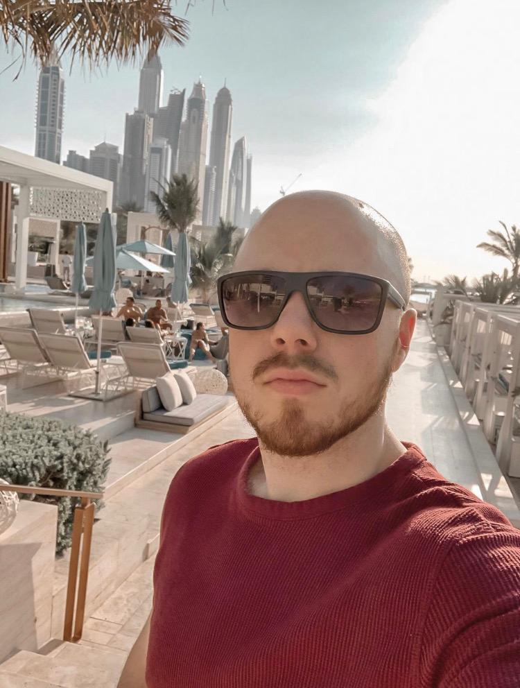 Dylan Madden in Dubai