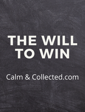 the will to win poem